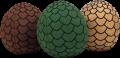 A Game Of Thrones - Dragon Egg Assortment (Plush Figure)