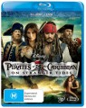 Pirates Of The Caribbean : On Stranger Tides (Blu Ray & DVD)