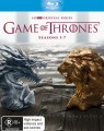 GAME OF THRONES - SEASONS 1-7 (BLU RAY)