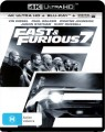 FAST AND FURIOUS 7 (4K BLU RAY UHD)
