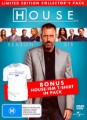 House - Complete Season 6 (with T-Shirt)