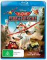 Planes Fire And Rescue (Blu Ray)