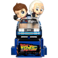 Back To The Future - Marty McFly And Doc Brown (Cosrider Figure)