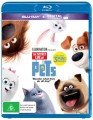 The Secret Life Of Pets (Blu Ray)