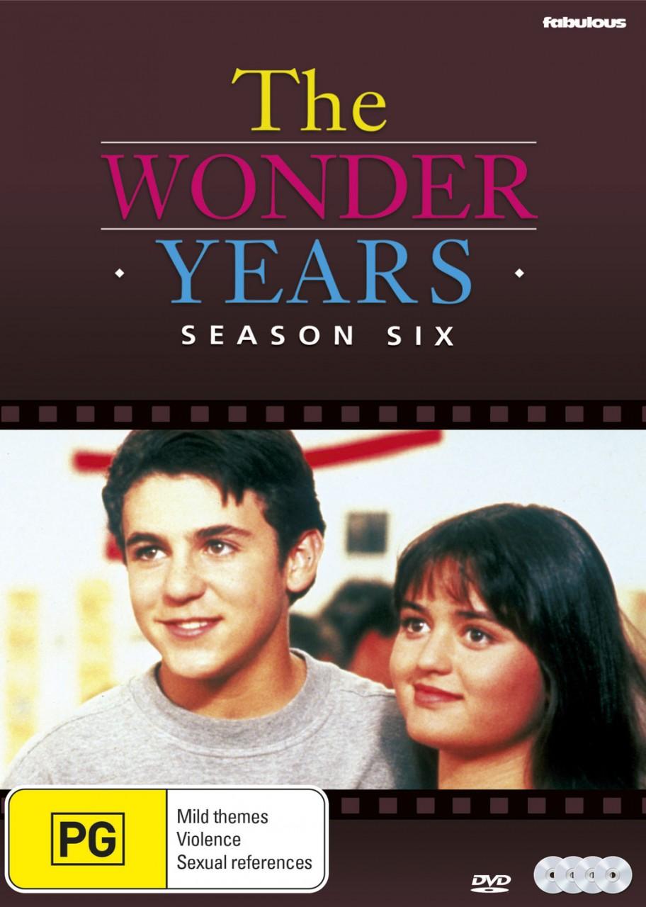 The Wonder Years Season 6 DVD - DVDLand