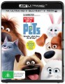 The Secret Life Of Pets (4K Blu Ray UHD)