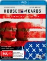 HOUSE OF CARDS - COMPLETE SEASON 5 (BLU RAY)