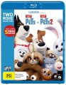 The Secret Life Of Pets 1-2 (Blu Ray)