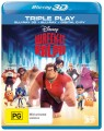 Wreck It Ralph 3D (Blu Ray)