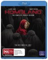 HOMELAND - COMPLETE SEASON 4 (BLU RAY)