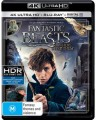 Fantastic Beasts And Where To Find Them (4K Blu Ray UHD)