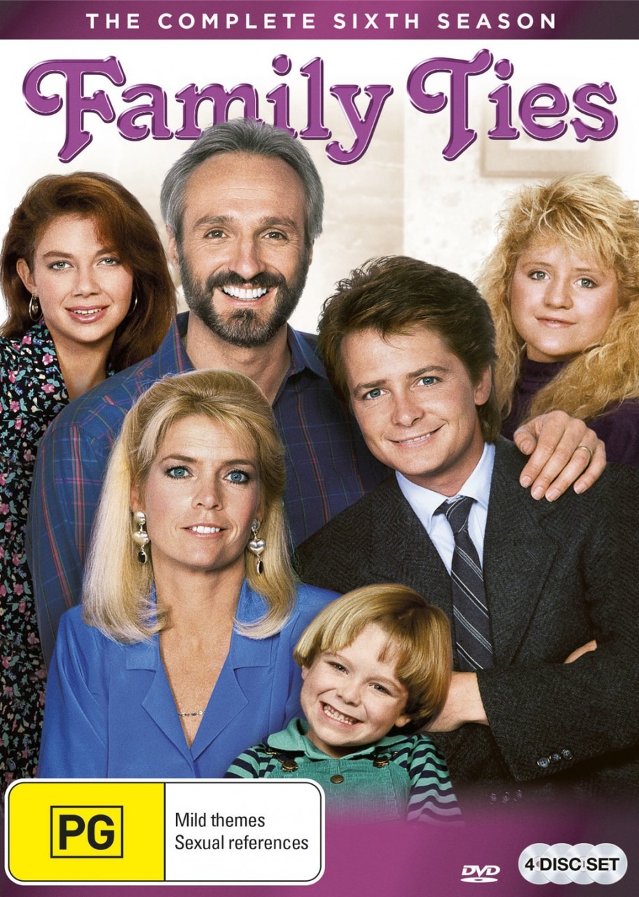 summary for the color of family ties Family ties is an american sitcom that aired on nbc for seven seasons, premiering on september 22, 1982, and concluding on may 14, 1989 the series.
