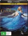 Cinderella (2015) (4K UHD Blu Ray)