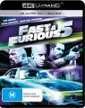 Fast And Furious 5 (4K UHD Blu Ray)