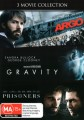 Argo / Gravity / Prisoners
