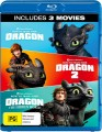 How to Train Your Dragon 1-3 (Blu Ray)