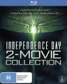 INDEPENDENCE DAY / INDEPENDENCE DAY RESURGENCE (BLU RAY)