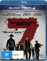 THE MAGNIFICENT SEVEN (2016) (BLU RAY)