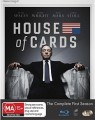 HOUSE OF CARDS - COMPLETE SEASON 1 (BLU RAY)
