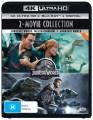 Jurassic World / Jurassic World Fallen Kingdom (4K UHD Blu Ray)