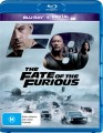 THE FATE OF THE FURIOUS (BLU RAY)