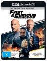 Fast And Furious: Hobbs And Shaw (4K Blu Ray)