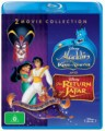 Aladdin - The Return Of Jafar / The King Of Thieves (Blu Ray)