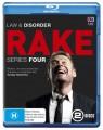 Rake - Complete Series 4 (Blu Ray)