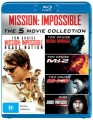 MISSION IMPOSSIBLE 1-5 (BLU RAY)