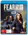 Fear The Walking Dead - Complete Season 4 (Blu Ray)
