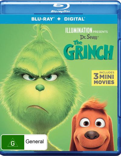 Dr Seuss The Grinch Blu Ray