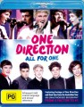 ONE DIRECTION - ALL FOR ONE (BLU RAY)