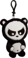 Angry Panda - Clip-On (Plush Toy)