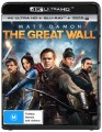 THE GREAT WALL (4K BLU RAY UHD)