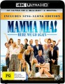 Mamma Mia Here We Go Again (4K UHD Blu Ray)