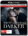 FIFTY SHADES DARKER (4K BLU RAY UHD)