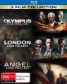 Olympus Has Fallen / London Has Fallen / Angel Has Fallen (Blu Ray)