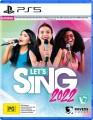 Lets Sing 2022 + Two Mics Bundle (PS5 Game)