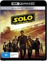 Solo - A Star Wars Story (4K UHD Blu Ray)