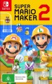 Super Mario Maker 2 (Switch Game)