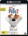 The Secret Life Of Pets 2 (4K UHD Blu Ray)