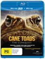 CANE TOADS - THE CONQUEST (3D & 2D BLU RAY/DVD)