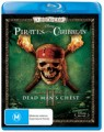 Pirates Of The Caribbean 2: Dead Mans Chest (Blu Ray)