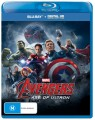 AVENGERS: AGE OF ULTRON (BLU RAY)
