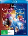 Cinderella 2 Dreams Come True / Cinderella 3 Twist In Time (Blu Ray)