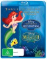 THE LITTLE MERMAID 2 / THE LITTLE MERMAID 3 (BLU RAY)