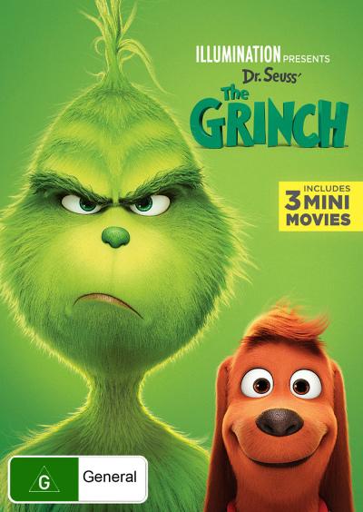 Dr Seuss The Grinch Dvd
