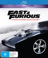 The Fast And The Furious Box Set (Blu Ray)