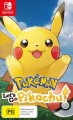 Pokemon Lets Go Pikachu (Switch Game)