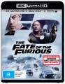 The Fate Of The Furious (4K UHD Blu Ray)